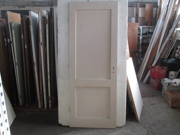 2 Panel Interior Paint Finished Door(2150H x 810W x 40D)