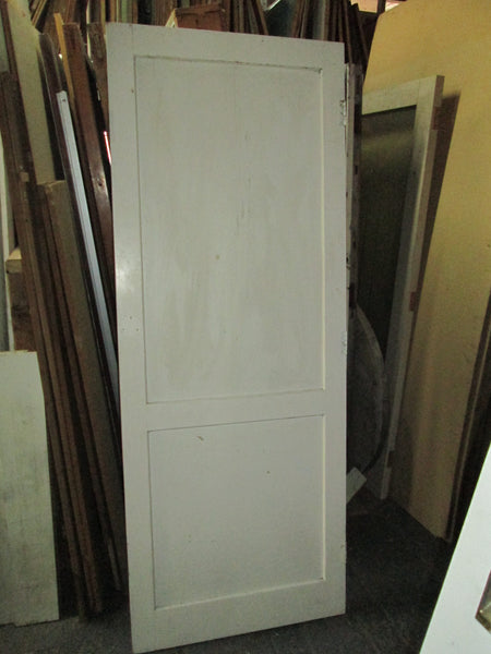 2 Panel Painted Rimu Door  1980H x 760W x 30D