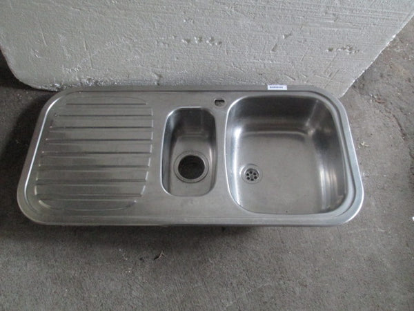 Stainless Steel Sink with plastic drainer 980H x 480D x 230H