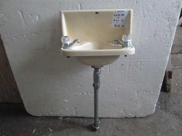 Wall Mounted Basin with Tapware 440W x 200D x 960H