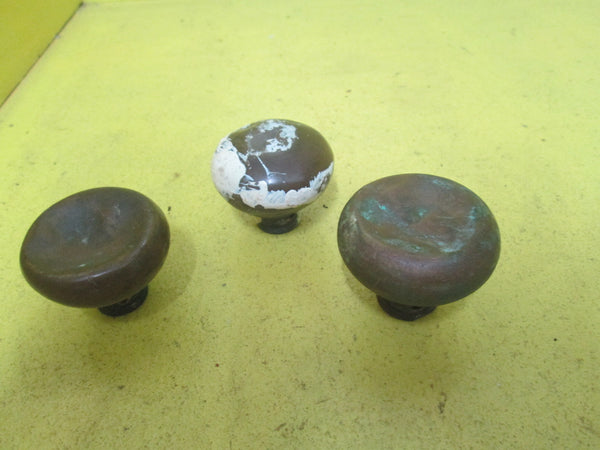 Antique Brass Hollow Door Knobs 40H x 45D