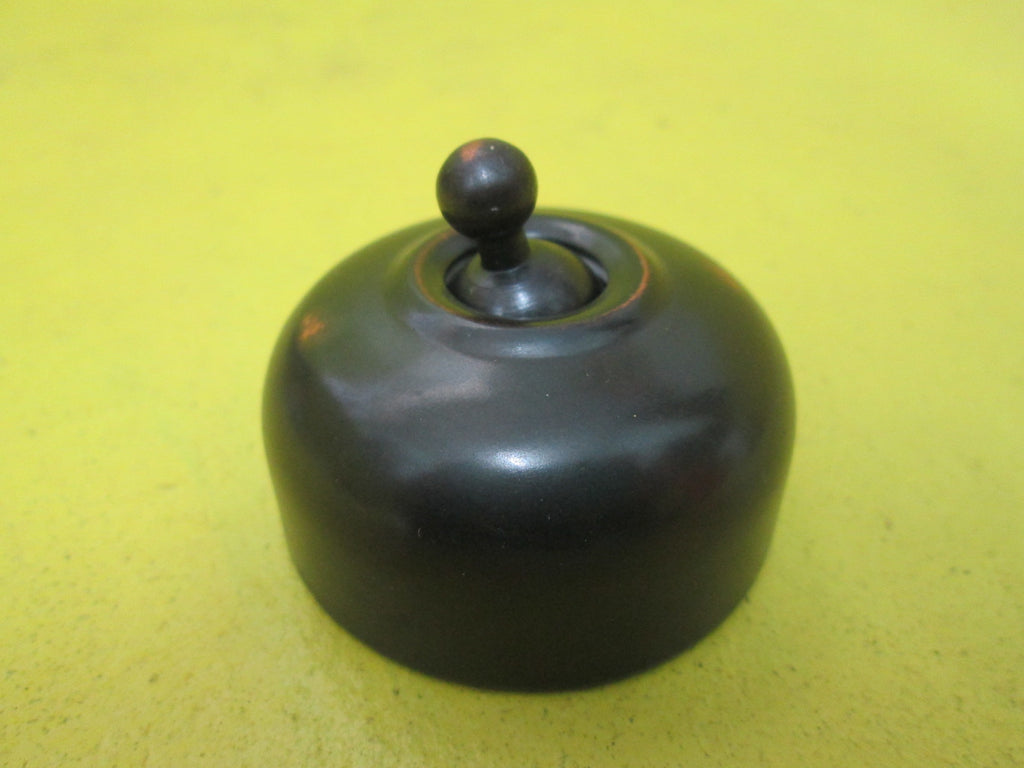 New Modern Antique Brass Light Toggle Switch (55D x 30H)