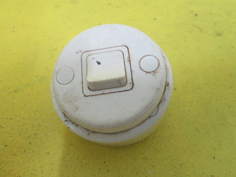 Round Plastic Light Switch 65D x 32H