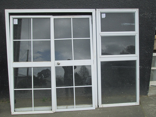 Colonial French Doors 2100H x 1830W x 60D