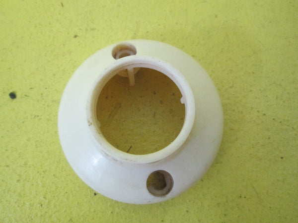 White Bakelite Light Mounts 70D - 30D x 30H