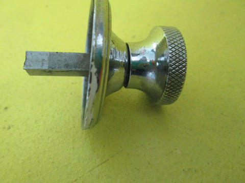 Art Deco Chrome Round Latch Handles 45D-28D x 33H