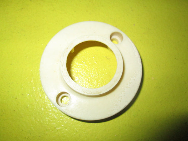 White Bakelite Light Mount Fixture 65D-30D x 20H