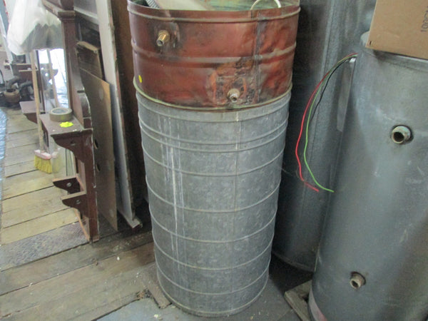 Stanley Hot Water Cylinder 30 Gallons 1969 and Header Tank