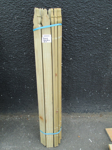 Picket Fence Pallings 1200H x 70W x 15D