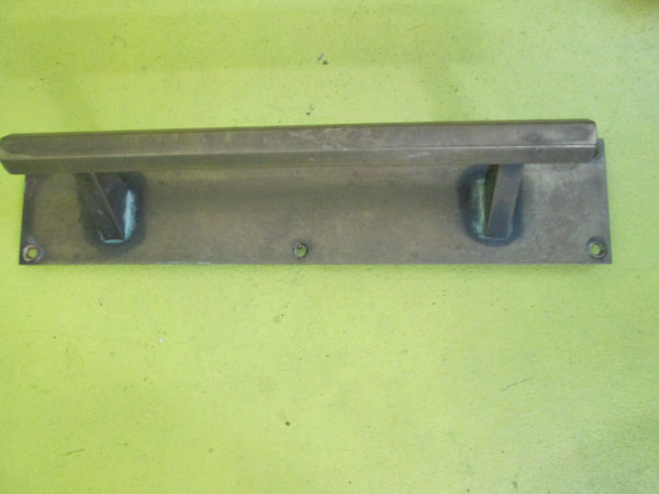 Art Deco Brass Door Pull Handle 305L x 60W x 60H