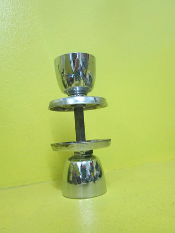 Stainless Steel Conical Knob Handles 50D x 60L