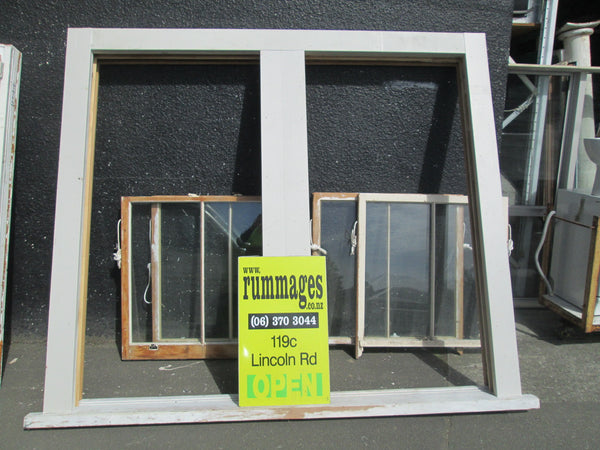 Double Double Hung Villa Window 21210H x 2350W x 140D