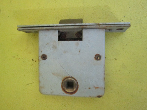 Antique Legge Mortice Latch Lock Plate 120L x 23W/75L x 79D(Axial 65)