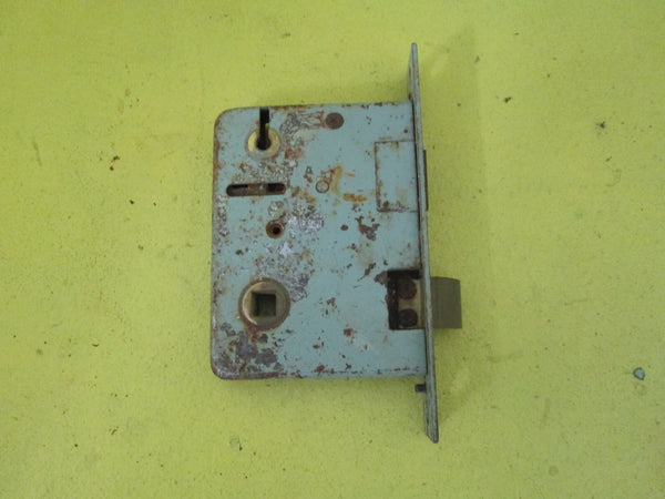 Antique Reversal Mortice Key Lock Plate140L x 23W/98L x 77D(55 Axial)