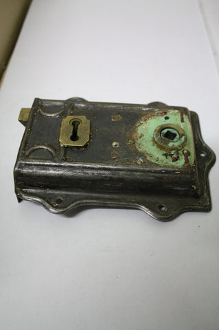 1900's Victorian Door Box Lock(70W x 160L)