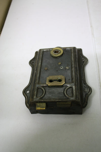 1900,s Victorian Door Box Lock complete working Lock(120W x160L)