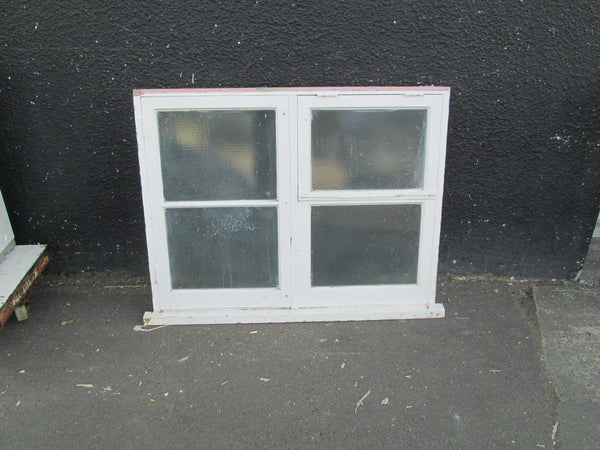 4 Lite Obscure Bathroom or Laundry with Opening Fanlite and Casement Window 1010H x 1300W