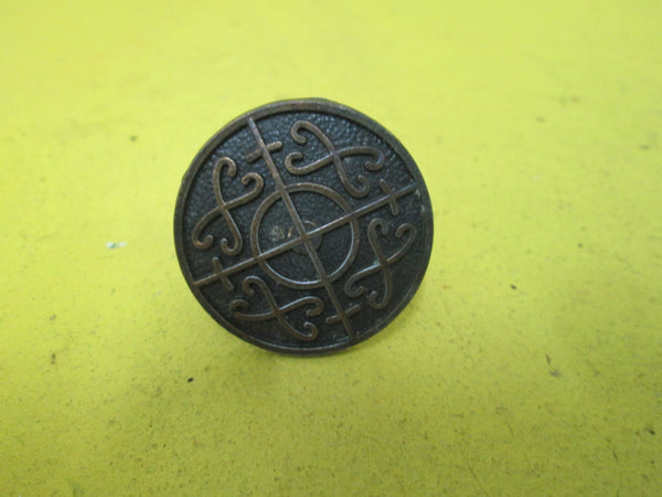 Antique Brass Celtic Circular Handle 38D x 20H