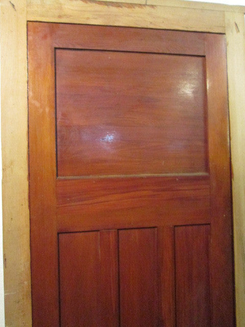 Rimu Hallway Door with Lever Hardware(2070H x 800W x 30D)