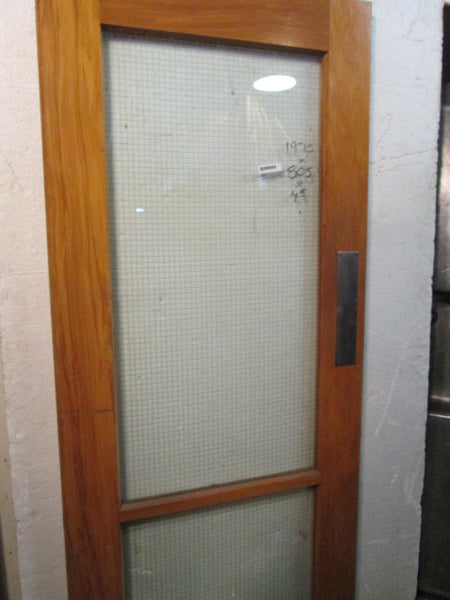 2 Lite Safety Glass Door(1975H x 805W)