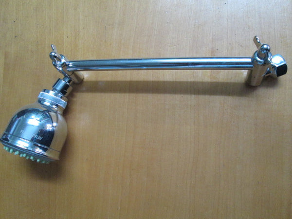Shower Head with Long Tilting Arm
