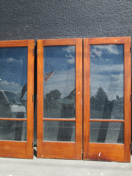 Three 2 Lite Folding Doors(No Frame)(1980H x 770W)