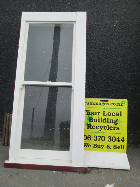 Single Double Hung Sash Window with weights 1990h x 840W x 140D