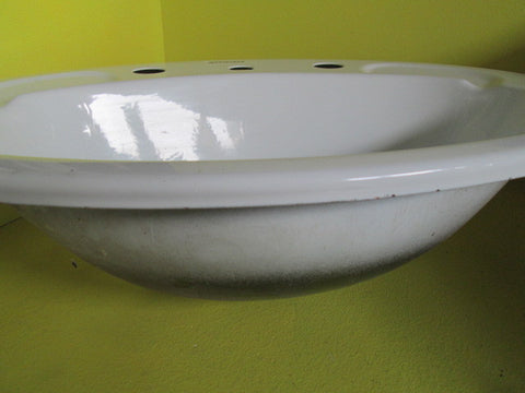 Porcelain Coated Tin Basin