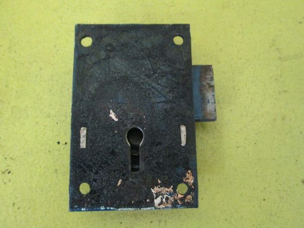 Antique Two Way Mortice Lock 40L x 79W x 14D