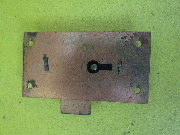 Copper Cabinet Draw Lock 39L x 74W x 9D