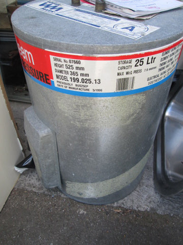Rheem 25Ltr Low Pressure Hot Water Cylinder