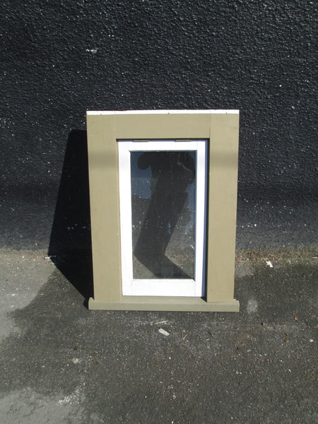 Bungalow Single Opening Window with Facial Boards 855H x 485W
