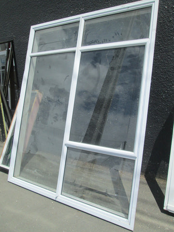 Large 5 Light Aluminum Window with 1 opening Lite 2160H x 1700W