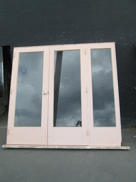 1 Lite French Doors with a Side Lite. 2040H x 2140W x 130D