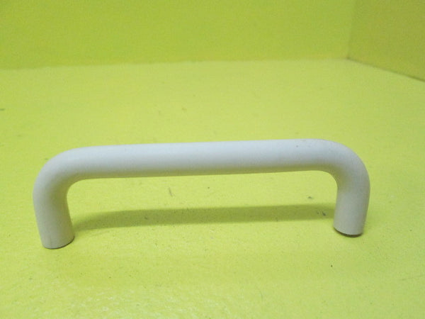 Off White Rounded Plastic Pull Handles