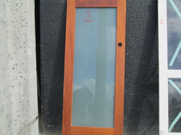 1 Lite Opaque Mahogany Internal Door(1980H x805W)