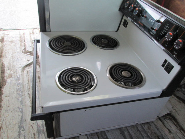 Champion Oven with Side Hob and Warmer
