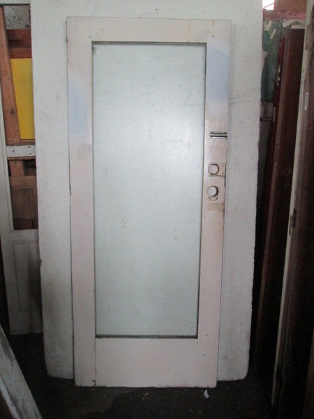 1 Lite Glass Natvie Timber Door 1970H x 810