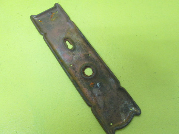Antique Copper Pinch Door Plate(225L x 70W)