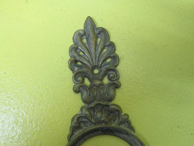 Ornate Gothic Door Plate