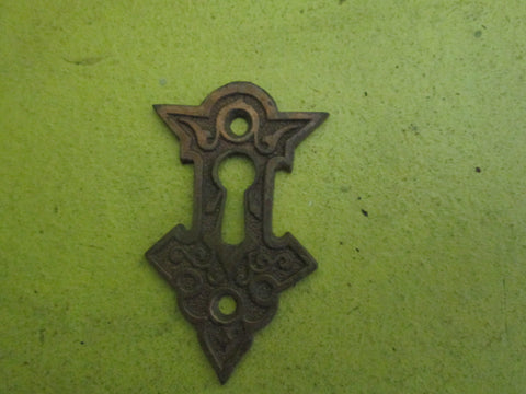 Antique Aesthetic Bronze Keyhole Cover 64L x 38W x 2mmD