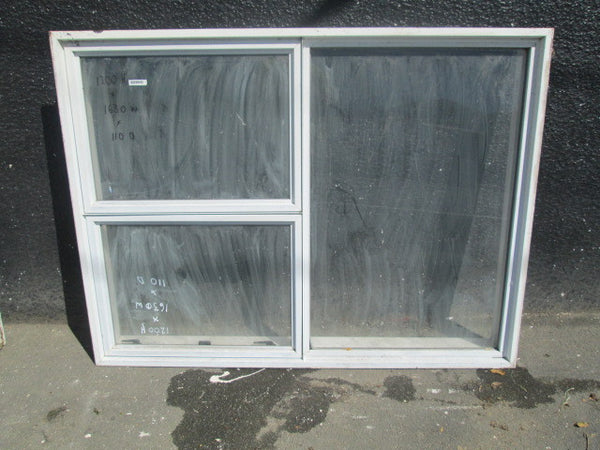 White Aluminum 3 Lite with 2 Opening Windows(2)