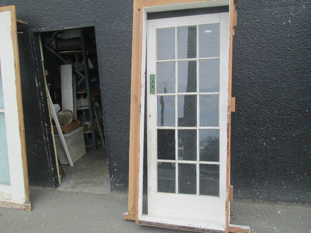 15 Lite Colonial Interior Door With Frame2door 2030h X 810w
