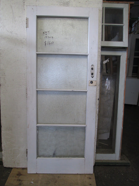 4 Lite Door with almost the same glass 1970H x 810W