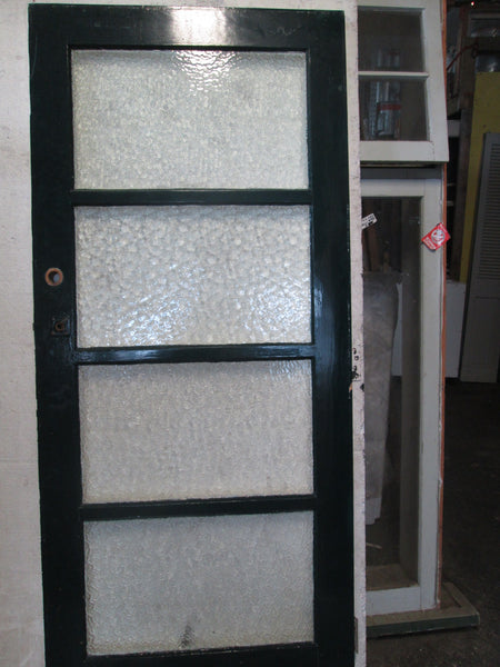 4 Lite Bungalow Door in Cathedral Glass 1970H x 860W