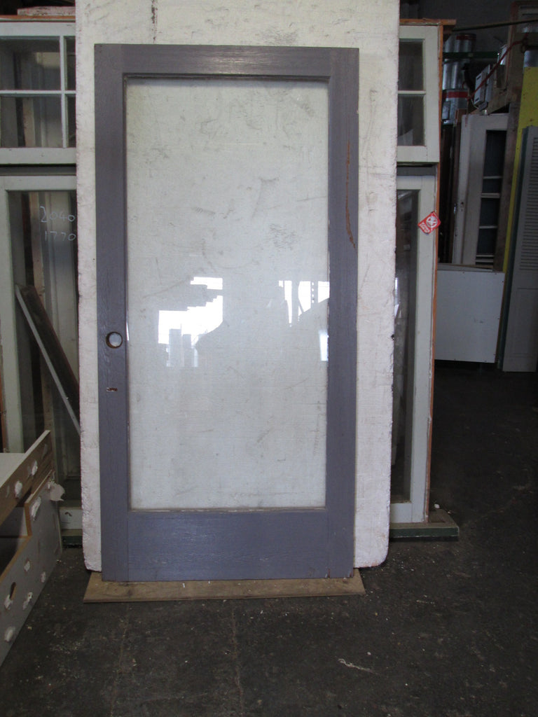 Large 1 Lite Door (Sliding?) 1980H x 960W x 40D