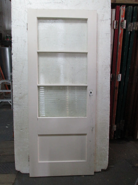 Back Door 3 Lite and Panel Door 2000H x 810W x 45D