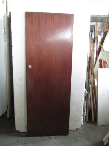 Mahogany Finish Hollow Core Door 1970H x 710W x 35D