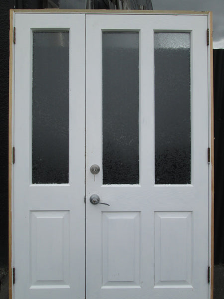 Front Entrance 2 Lite & 2 Panel Doors with Sidelite 2050H x 1340W x 150D