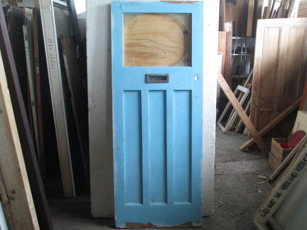 Bungalow Front Door with Letter Box(2040H x 800W x 45D)